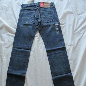Levi's 511 Jeans 045112180 Selvedge Slim Blue